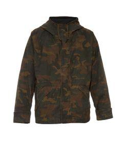 YEEZY SEASON 1   Hooded Camouflage-Print Coat