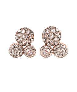 SELIM MOUZANNAR | Diamond Pink-Gold Beirut Earrings