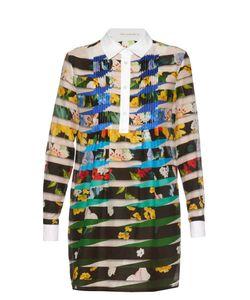 Mary Katrantzou | Beesie Floral Stripe-Print Dress
