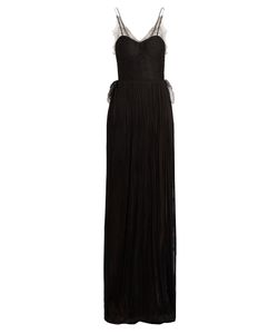 Maria Lucia Hohan   Erica Pleated Silk-Tulle Gown