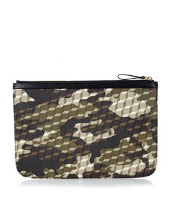 Pierre Hardy | Cube And Camouflage-Print Coated-Canvas Pouch