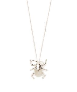 TITLE OF WORK | Sterlingscarab-Beetle Necklace
