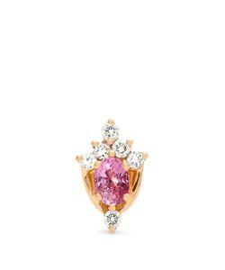 MARIA TASH | Diamond Sapphire Rose Earring