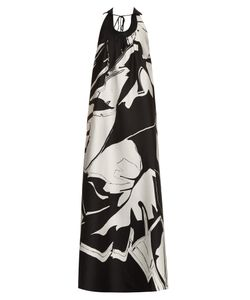 Roberto Cavalli | Cotton And Silk-Blend Jacquard Gown