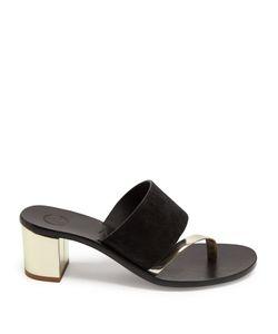 ÁLVARO | Alberta Alta Suede Sandals