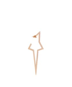 Diane Kordas | Diamond Rose Star Earring