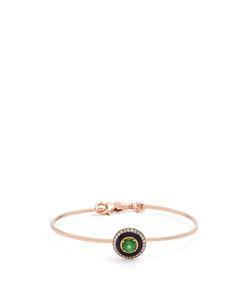 SELIM MOUZANNAR   Diamond Tsavorite Mina Bracelet