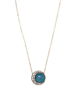 Noor Fares | Diamond Opal Necklace