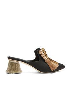 SANAYI 313   Calypso Tassel Block-Heel Mules