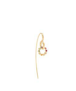 CHARLOTTE CHESNAIS | Swing Hook Sapphire Topaz Earring