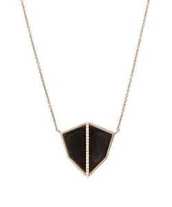 MONIQUE PÉAN | Diamond Obsidian Necklace