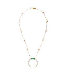 Aurelie Bidermann | Caftan Moon Plated Necklace