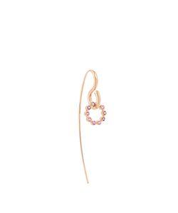CHARLOTTE CHESNAIS | Swing Hook Sapphire Amethyst Earring