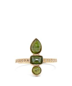 JACQUIE AICHE | Diamond Tourmaline Ring
