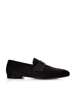 Bottega Veneta | Intrecciato And Suede Loafers