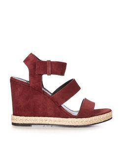 Balenciaga | Suede Wedge Sandals