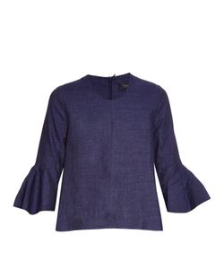 Ellery | Neu Deconstructed Bell-Sleeve Top