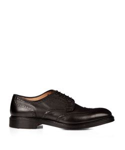 CHEANEY | Bexhill Grained-Leather Brogues