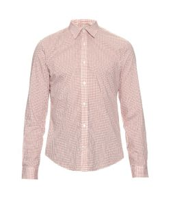 GIEVES & HAWKES | Checked Cotton Shirt