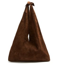 The Row | Bindle Suede Shoulder Bag