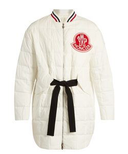 Moncler Gamme Rouge | Chanel Cotton And Silk-Blend Quilted Down Jacket