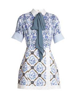Mary Katrantzou | Hayden Toile De Jouy-Print Poplin Dress