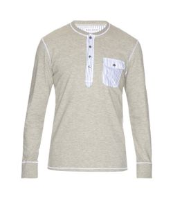 Michael Bastian | Patch-Pocket Cotton Henley T-Shirt