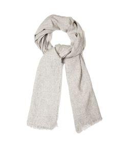 BEGG & CO. | Kos Washed Cashmere And Linen-Blend Scarf
