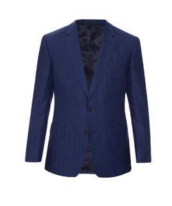 GIEVES & HAWKES | Notch-Lapel Herringbone Jacket