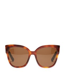 Gucci | Oversized Cat-Eye Frame Sunglasses