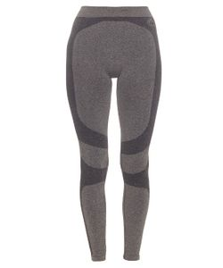 PEPPER & MAYNE | Seamless Trompe Loeil Performance Leggings