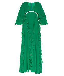 Giambattista Valli | Ruffled Silk-Georgette Gown