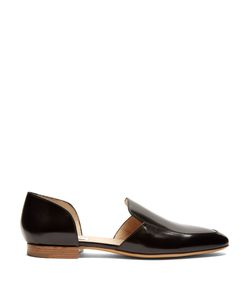 Gabriela Hearst | Francis Smooth-Leather Loafers