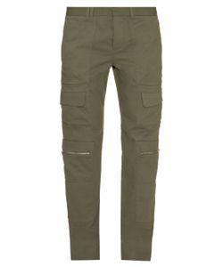 TIM COPPENS | Patch-Pocket Cotton Trousers