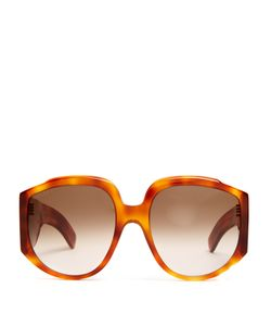 Gucci | Monogram Oversized Sunglasses