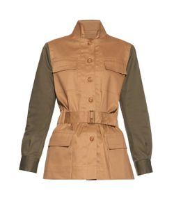 MAFALDA VON HESSEN | Sahariana Cotton-Blend Jacket