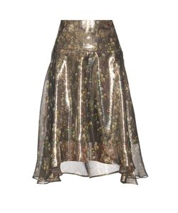 Preen By Thornton Bregazzi | Amila Floral-Print Skirt