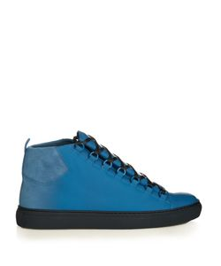 Balenciaga | Arena Leather High-Top Trainers