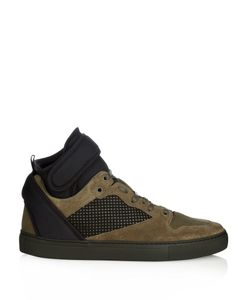 Balenciaga | Multi-Panel Suede High-Top Trainers