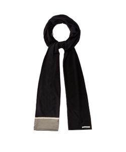 ARJUNA.AG | Silver-Pleated Jersey Scarf