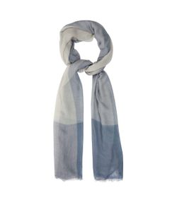 Denis Colomb   Monsoon Stripe Silk And Cashmere-Blend Scarf