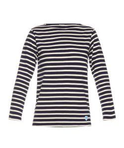 ORCIVAL   Breton-Stripe Cotton Top