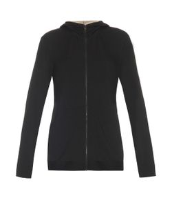 ARJUNA.AG | Monk Silver-Plated Jersey Hooded Sweatshirt