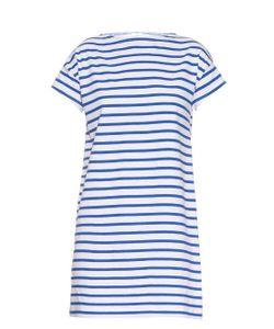 ORCIVAL   Breton-Stripe Cotton Dress