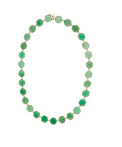 IRENE NEUWIRTH | Chrysoprase Yellow-Gold Necklace