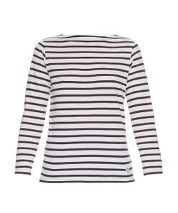 ORCIVAL | Breton-Stripe Cotton And Silk-Blend Top