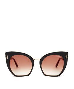 Tom Ford Eyewear | Samantha Cat-Eye Sunglasses