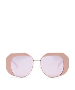 KAREN WALKER EYEWEAR | Domingo Butterfly-Frame Sunglasses