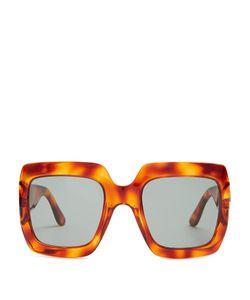 Gucci | Oversized Square-Frame Sunglasses