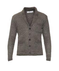 INIS MEÁIN | Stone Linen-Knit Pub Jacket